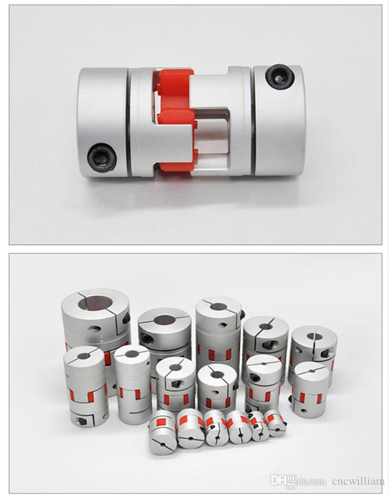 LKs Shop Coupling Shaft Flexible Plum Shaft Coupling CNC Stepper Motor Coupler D20L25 D20L30 D25L30 D25L35 D30L35 Jaw Shaft Coupling 5mm 8mm 10mm 1PCS Connection Color : D20L25 8x8