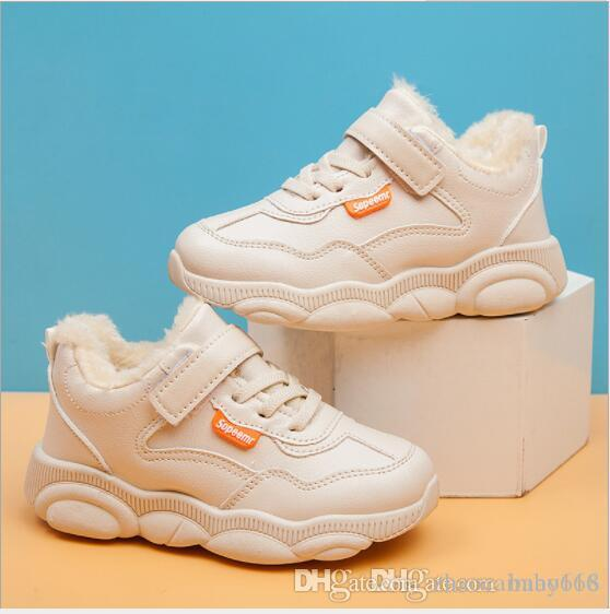 2020 Chaussures de sport pour enfants en hiver chaussures de sport pour filles en automne et en hiver