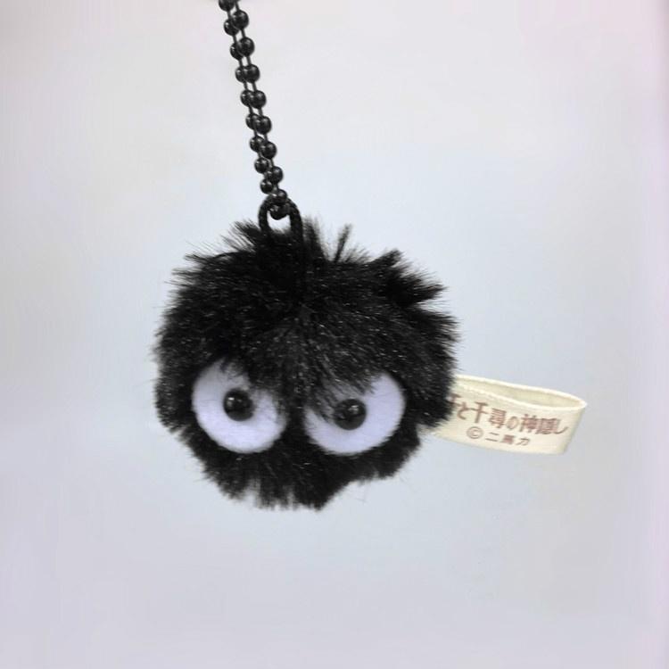 Japan Anime Tonari No Totoro Chihiros Black Coal Brikett-Ball Plüsch-weiche Plüschtiere für Kinder 4cm