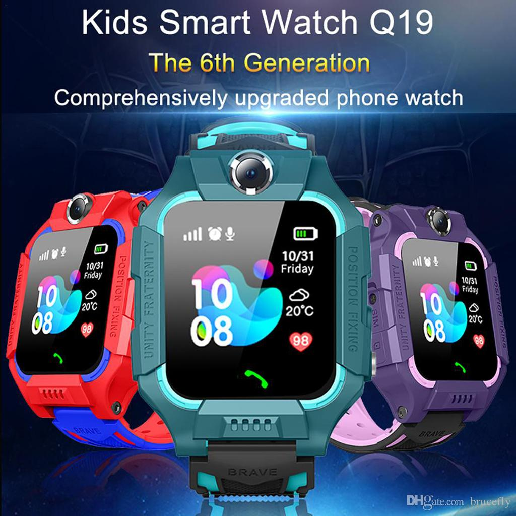 Z6 Kinder Smart Watch IP67 Tiefe wasserdichte 2G-SIM-Karte GPS Tracker SOS Anti-verloren Smart Watch Für IOS Android PK Z5 Q12 Q50