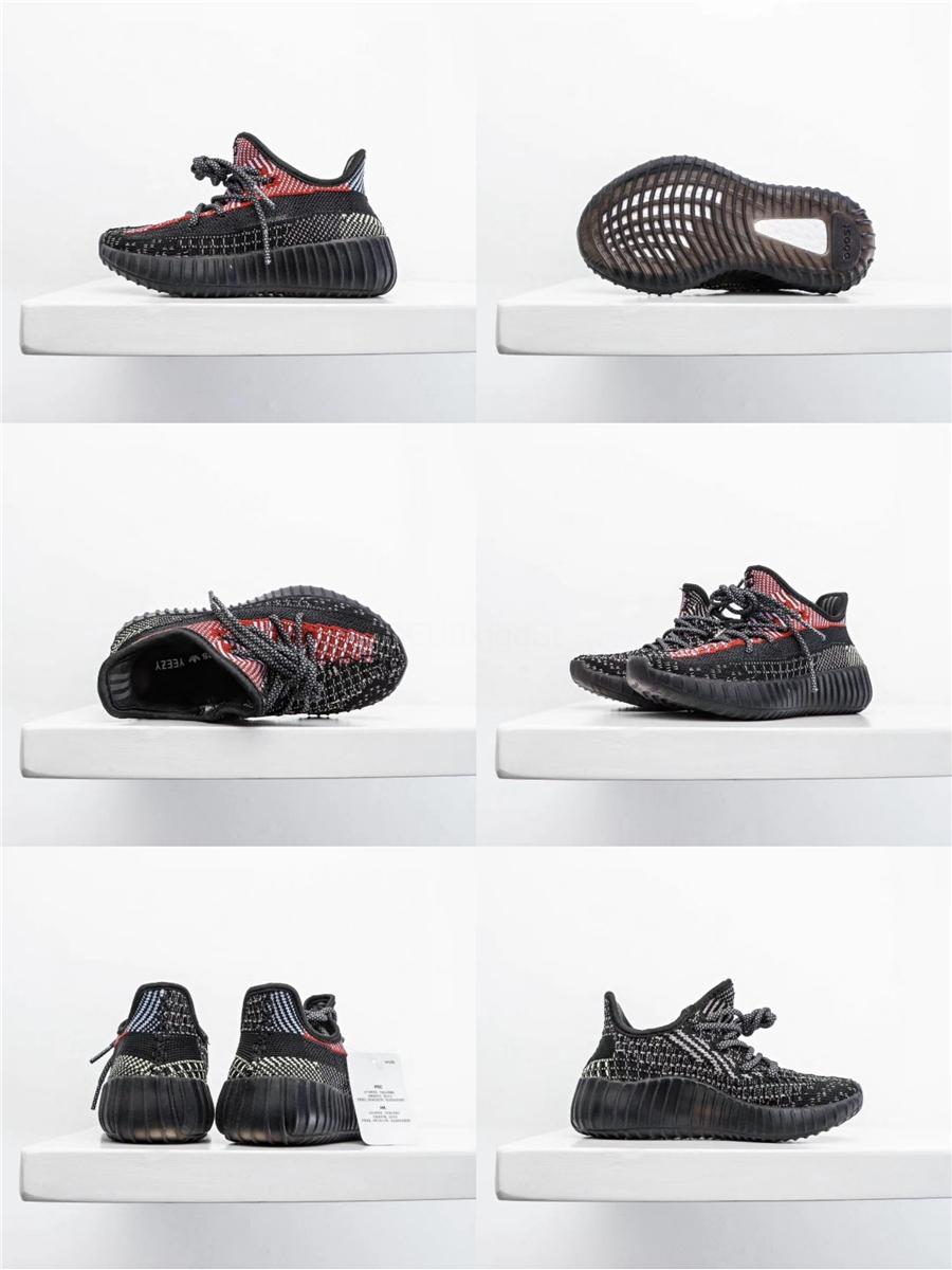 Kids Shoes Kanye West V2 corridore dell'onda 35o Ragazze Scarpe da corsa del bambino del Trainer Boy scarpe da tennis per bambini scarpe sportive Nero Rosa # 179