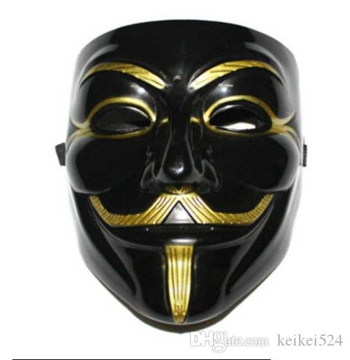 3 Styles Cool V For Vendetta Mask Guy Fawkes Anonymous Halloween Fancy Dress Costume Cosplay Venetian Carnival Mask