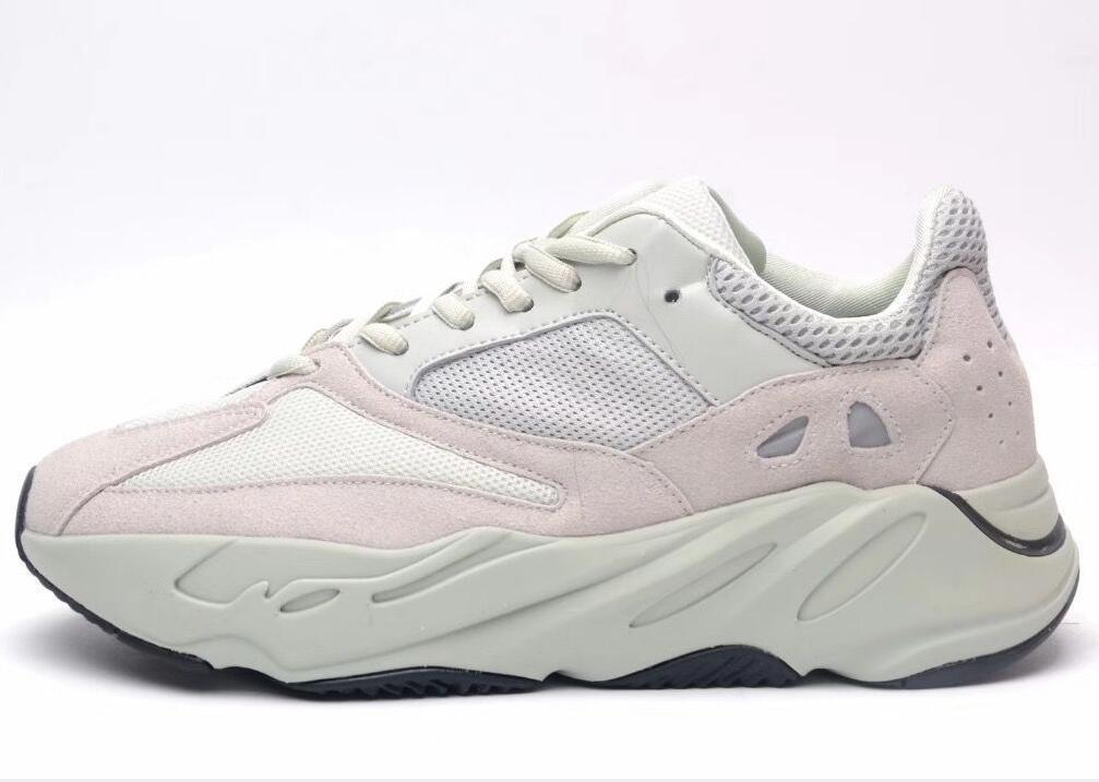 700 V2 corredor da onda Geode Inércia Cinza contínuo Vanta Geode estática malva Homens Mulheres Kanye West sapatos casuais Designer Sneakers 35-46 H1
