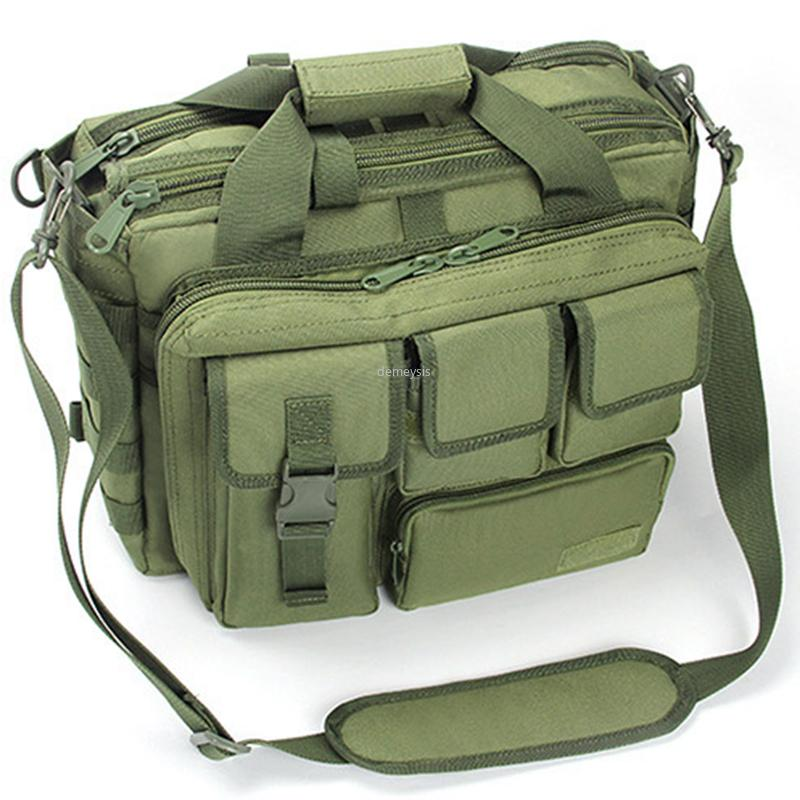 Waterproof Outdoor Laptop Hand Carry Bags Molle Tactical Sports Shoulder Bag Hunting Hiking Climbing Backpack Bags