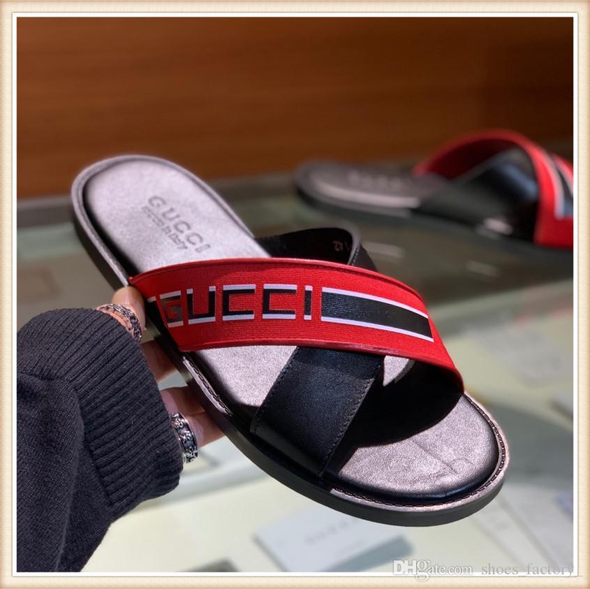luxury slippers for men