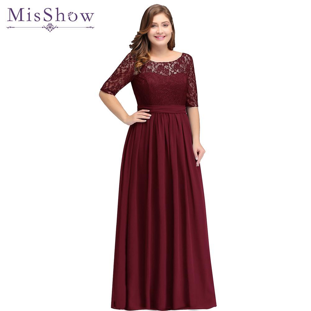2019 Long Cheap Bridesmaid Dresses Under 50$ Floor Length Lace Plus Size  Bridesmaid Dress Vestido De Madrinha De Casamento Bridesmaid Dress Store ...