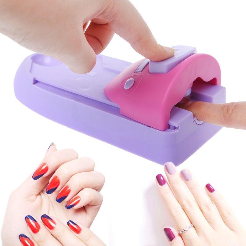 Equipo de manicura de la máquina de estampado de la máquina de la manicura del sello del estampado de la impresora del arte del clavo Equipo de Nail Art
