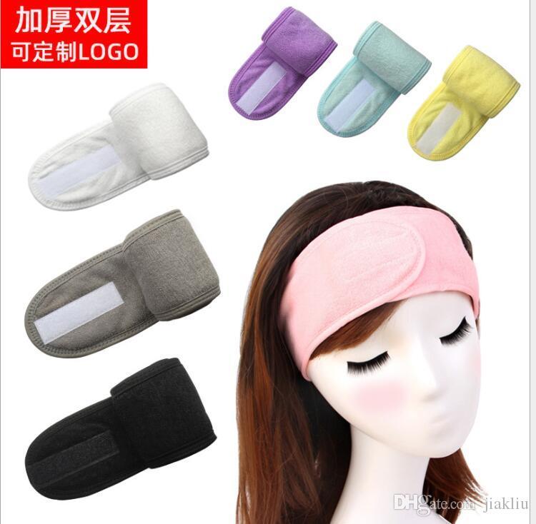 группа волос мыть волосы обруч Европейский и американский спорт йога платок маска макияж пользовательские красоты головные уборы A2020