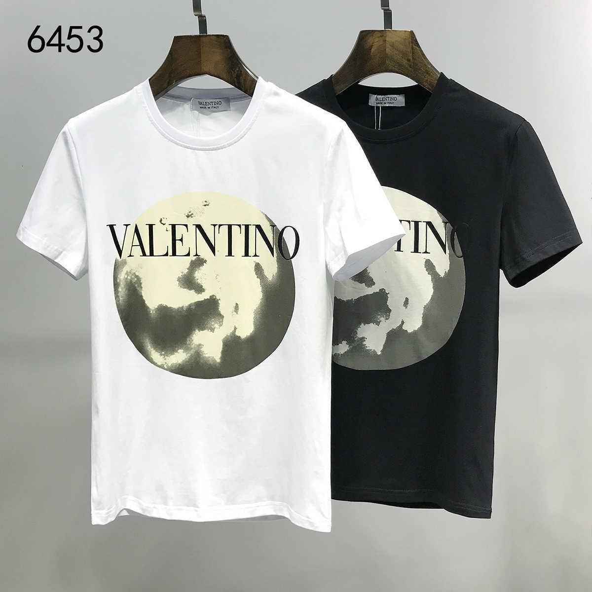 Handsome 20ss più nuovo modo degli uomini di disegno T E Camicia puro manica corta in cotone Elegante Casual maglietta migliore qualità