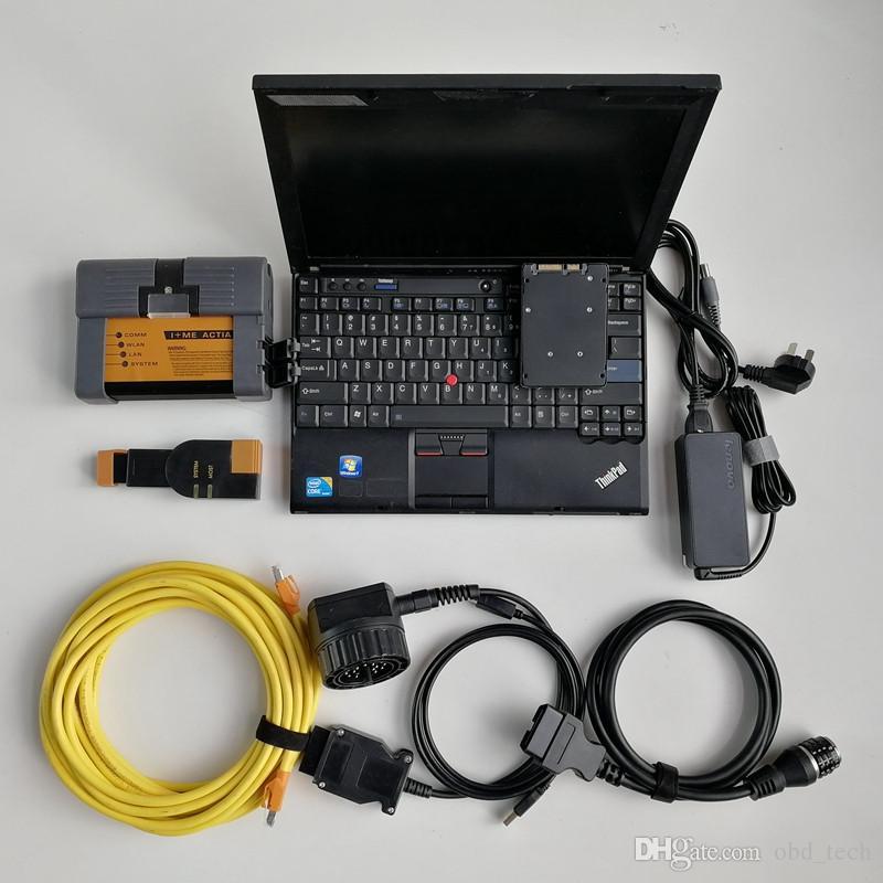 Ferramenta para BMW ICOM A2 + B + C com mais recente soft-ware v03.2021 instalado em X201 I7 CPU 8G e 720GB SSD