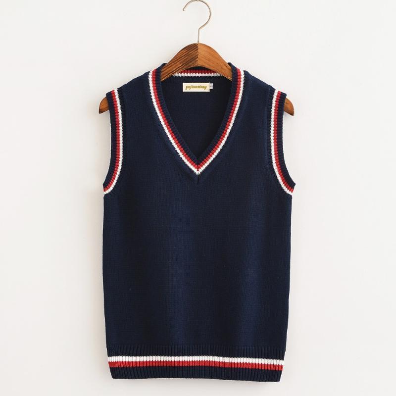 Boys Kids School Uniform V Neck Sleeveless Tank Top Jumper SweatShirt Size 3toXL