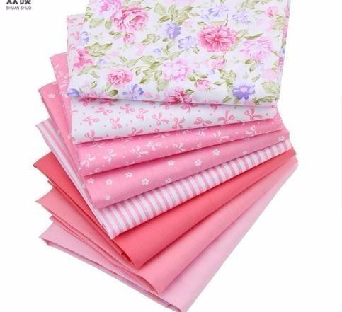 8 Farbe Baumwollgewebe Patchwork Tissue Tuch Von Handgemachte DIY Quilten Nähen BabyKinder Blätter Kleid 40 * 50 cm 8 TEILE / LOS