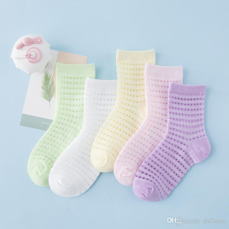 8 Pairs Cotton Solid Fluffy Short Winter Socks Baby Boy Girl Toddler Warm UK