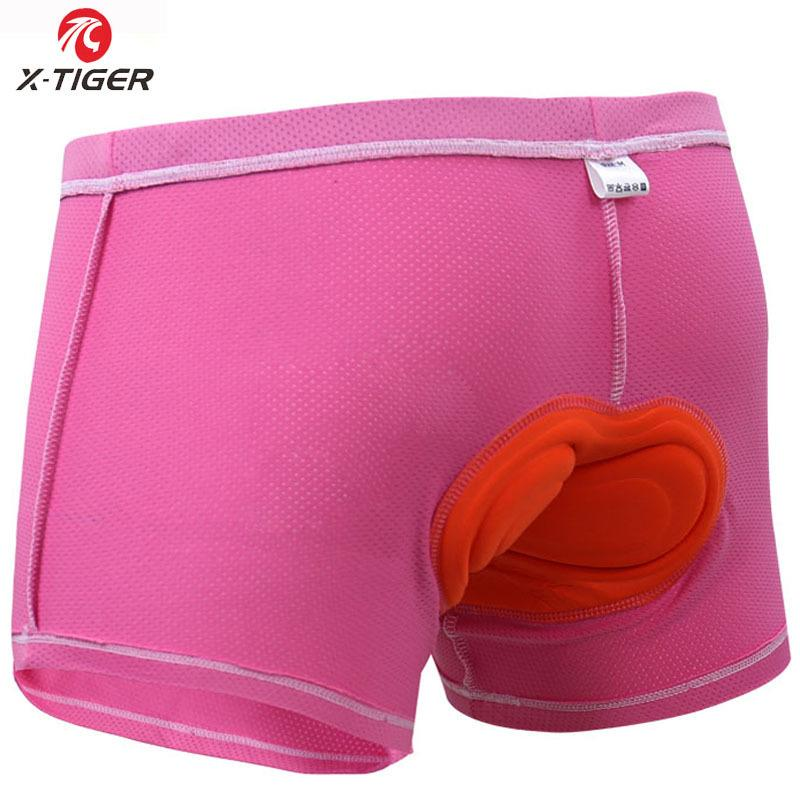 5D Gel Padded Cycling Shorts Underwear 3D Pad Bicycle Mountain Bike Sport XTiger