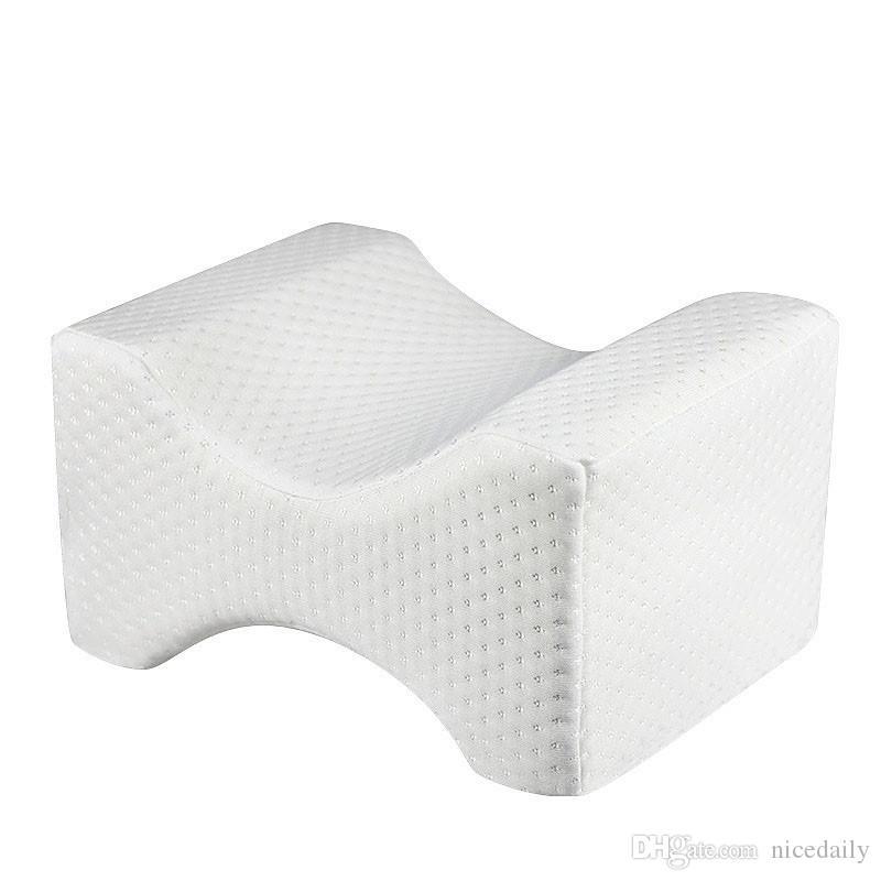 Ortopedico ginocchio cuscino del collo per la sciatica Relief Back / Leg Pain Gravidanza, anca e dolori articolari - Memory Foam Wedge Contour cuscino di sonno