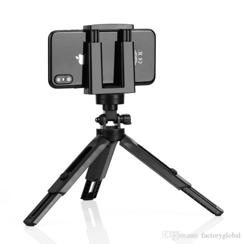 360 Flexible Mini scrivania Treppiedi basamento del supporto per il telefono mini basamento Fotografia Staffa selfie monopiede Monte DHL