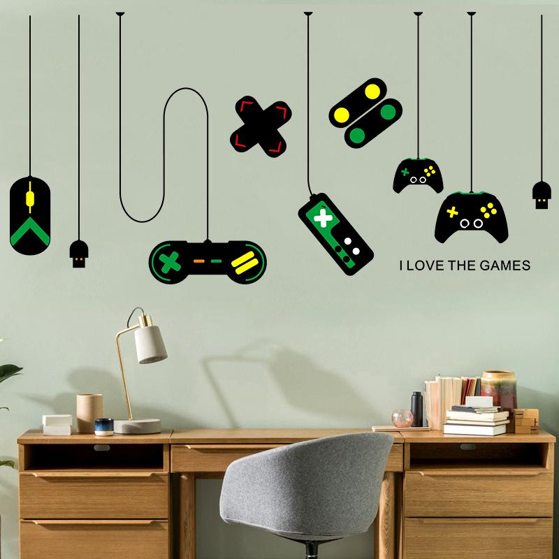 ذاتية اللصق Qianyun ديكور المنزل PVC لعبة الحبوب ماء ملصقات الحائط ورقة خلفية ديكور المنزل ملصق ديكور غرفة