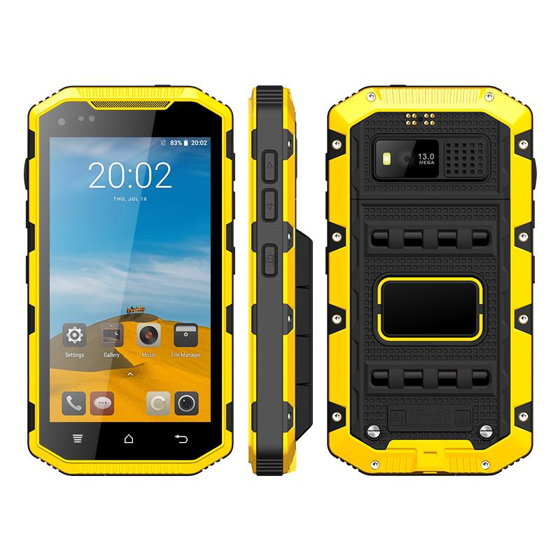 Explosion Proof mobile Phone 4G LTE Rugged Phone Intrinsically Safe For Oil & Gas Industry and Hazardous Areas IP68 Waterproof UNIWA T501