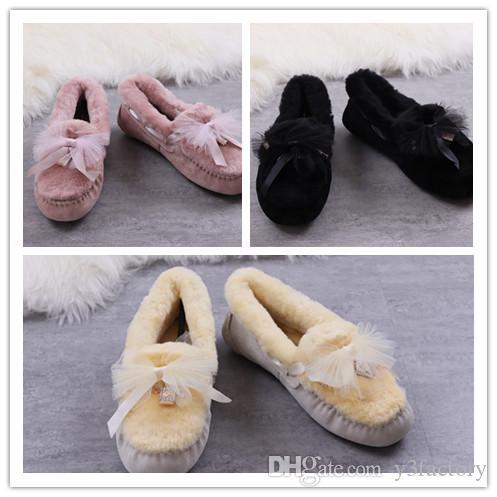 뜨거운 판매 새로운 1015112 여자의 호주 고전 높이 부츠 여자 여자 부츠 부팅 눈 겨울 부츠 자홍색 블랙 핑크 레드 가죽 신발
