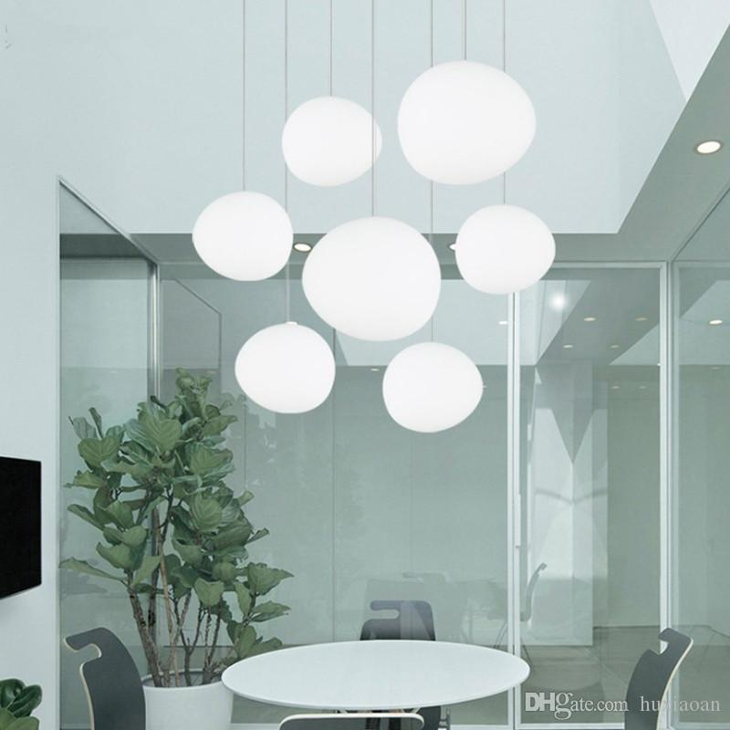 Italy Foscarini Gregg Suspension Lamp Glass Pendant Lights Modern Led  Irregular Hanging Lamp Dining Room Kitchen Light Fixtures Ceiling Lights  Online ...