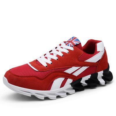 Nueva primavera otoño zapatos casuales hombres talla grande 39-46 zapatilla de deporte de moda cómoda malla de moda con cordones zapatos de hombre adulto zapatos hombre