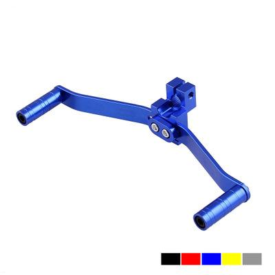 motorcycle gear shift lever modified universal shift lever Welding all aluminum alloy double head shift lever