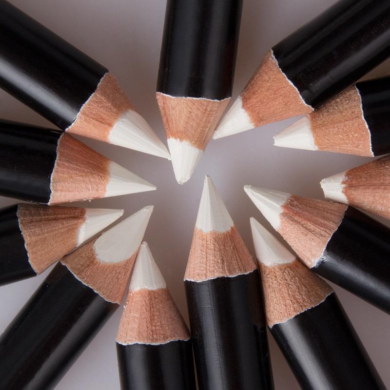 Menow P112 الأبيض تسليط الضوء القلم مدرسة ستوديو 12 / مربع للماء كحل قلم رصاص تسليط الضوء على عينيه دي إتش إل الشحن المجاني