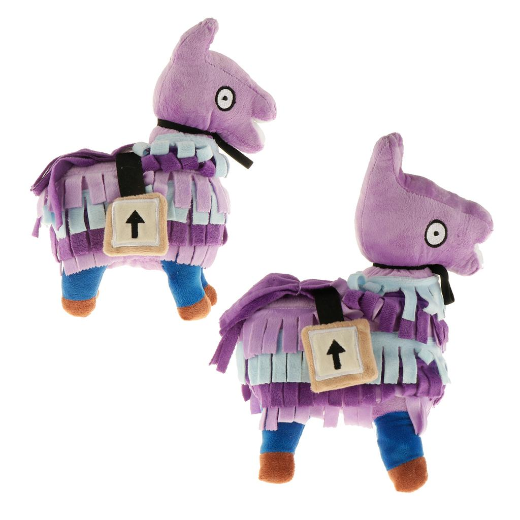 Roxo dos desenhos animados Plush Stuffed alpaca animal Dolls Soft Toy presente do bebê para 25 centímetros 35 centímetros