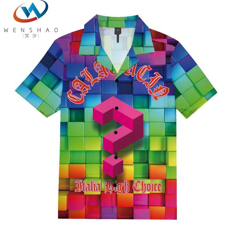 = 2020 ilkbahar yaz marka etiketi elbise erkekler Polo tişört yaka yaka kumaş mektup eğlence erkekler tişörtler ParisJJ52 Marka adı