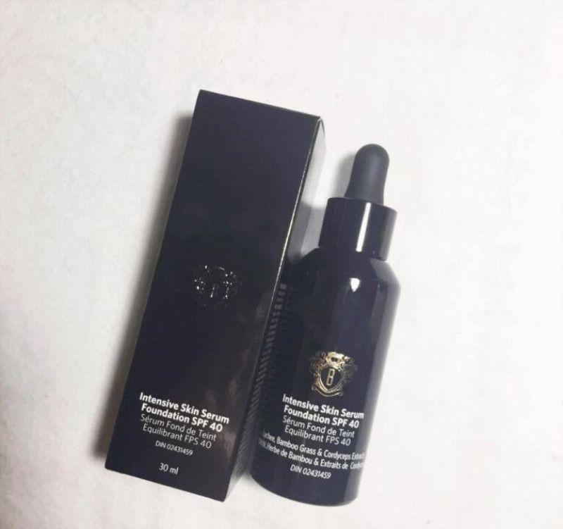 브랜드 최신 집중 피부 혈청 재단 SPF40 30ml 도자기 얼굴 완벽한 액체 BB 재단 메이크업 무료 배달