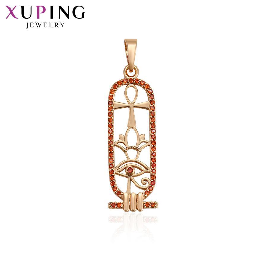 Kadınlar Noel Şükran Hediye S120.3-30509 için Xuping Takı Lüks Nefis kolye kolye Avrupa Tarzı