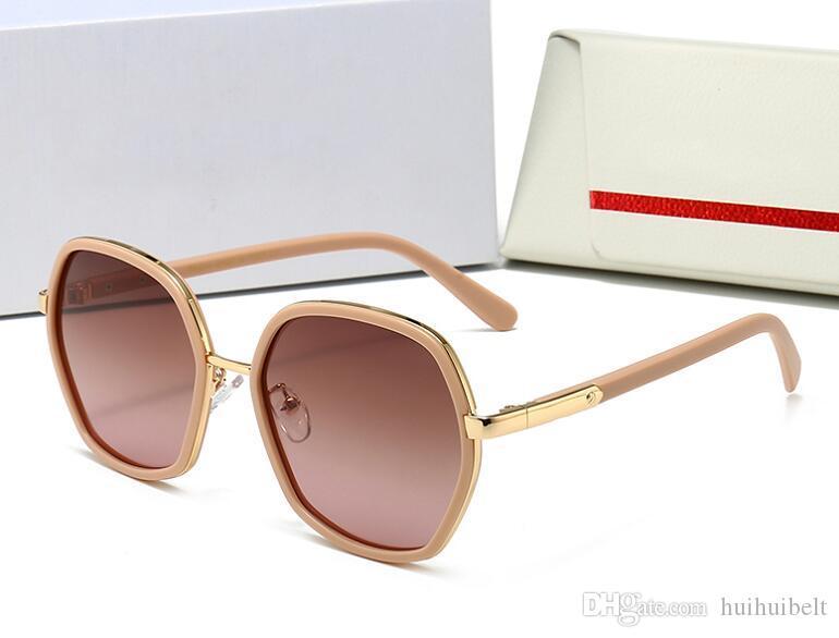 2020 nuovi occhiali da sole polarizzati retrò di guida gli occhiali da sole vacanza selvaggia di diamanti di viaggio occhiali da sole con la scatola originale 1226