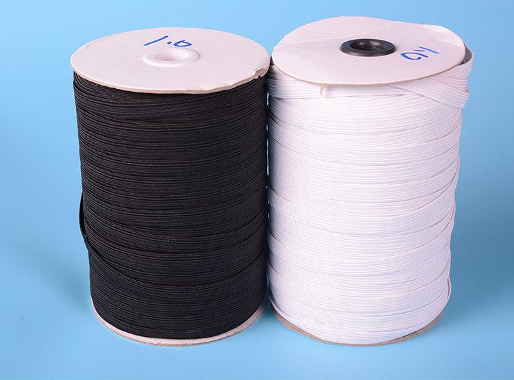 100-200 / lots de-12mm blanc cordon élastique extensible fil à cordes Corde CH-1024