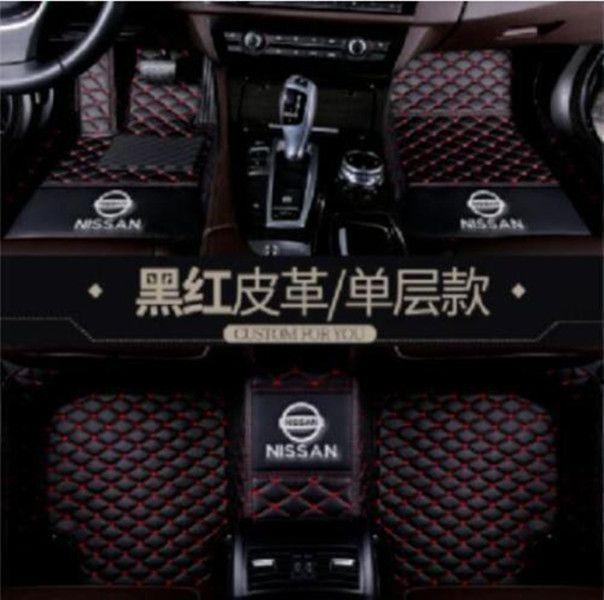Fit Nissan X-TRAIL 2017-2020 luxe sur mesure toutes saisons Tapis d'auto antidérapante imperméable Tapis Tapis non toxiques et inodores