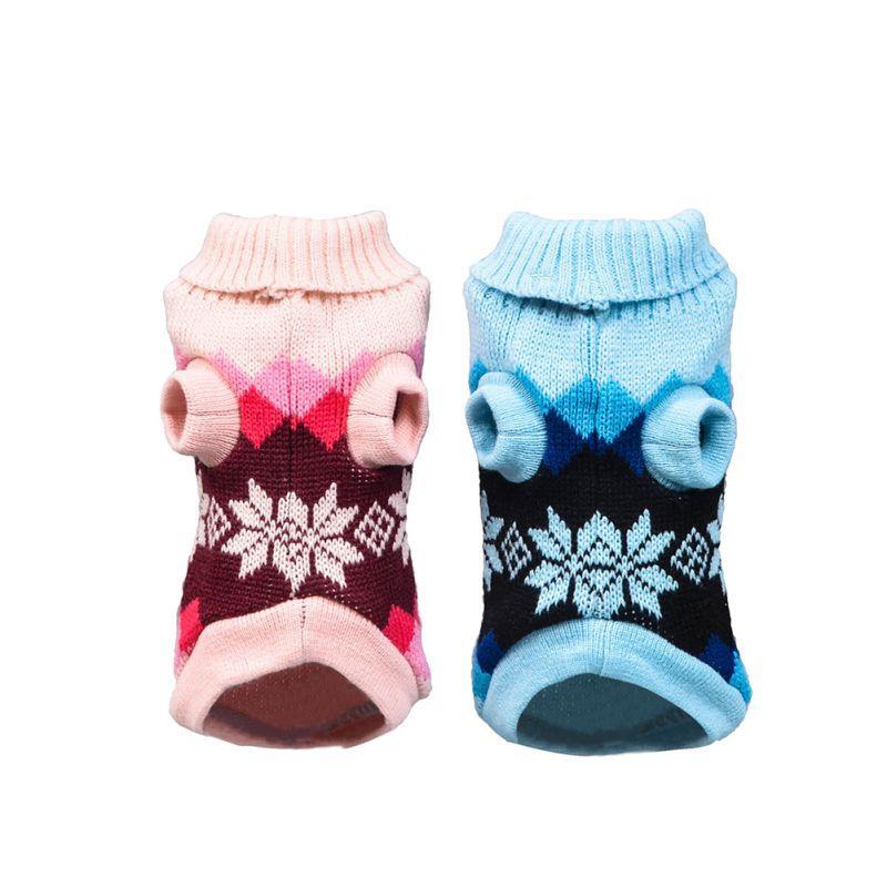 Diamond Dog Sweater Pet Dogs Cat Malha para caes Filhote de cachorro casaco para Pequeno Grande Dogs Inverno Costume Para Gatos Quente