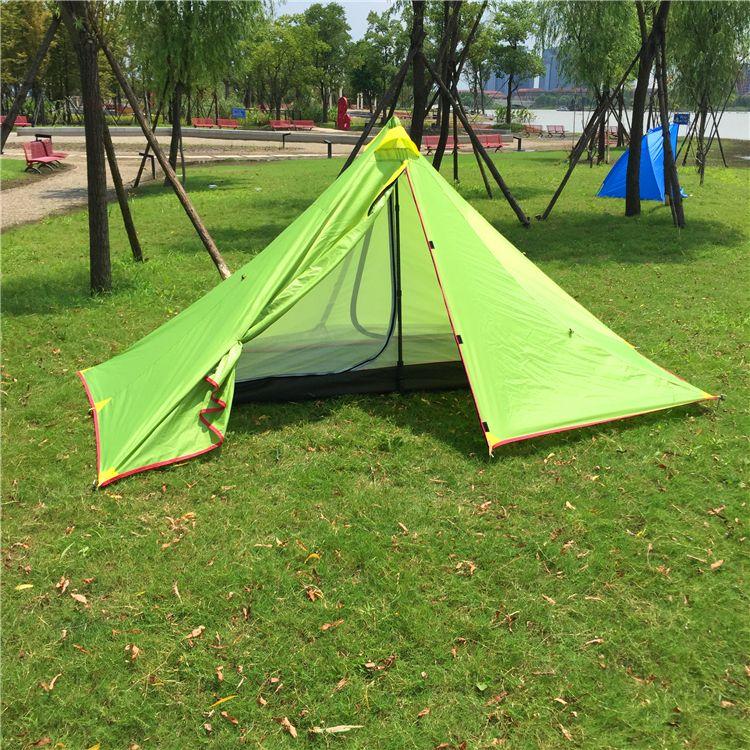 Сверхлегкий альпинизмом палатка пирамида, 2-3 персон водоустойчивый располагать лагерем шатер, CZX-129 палатка рипстоп,персонаж, тип походные палатки