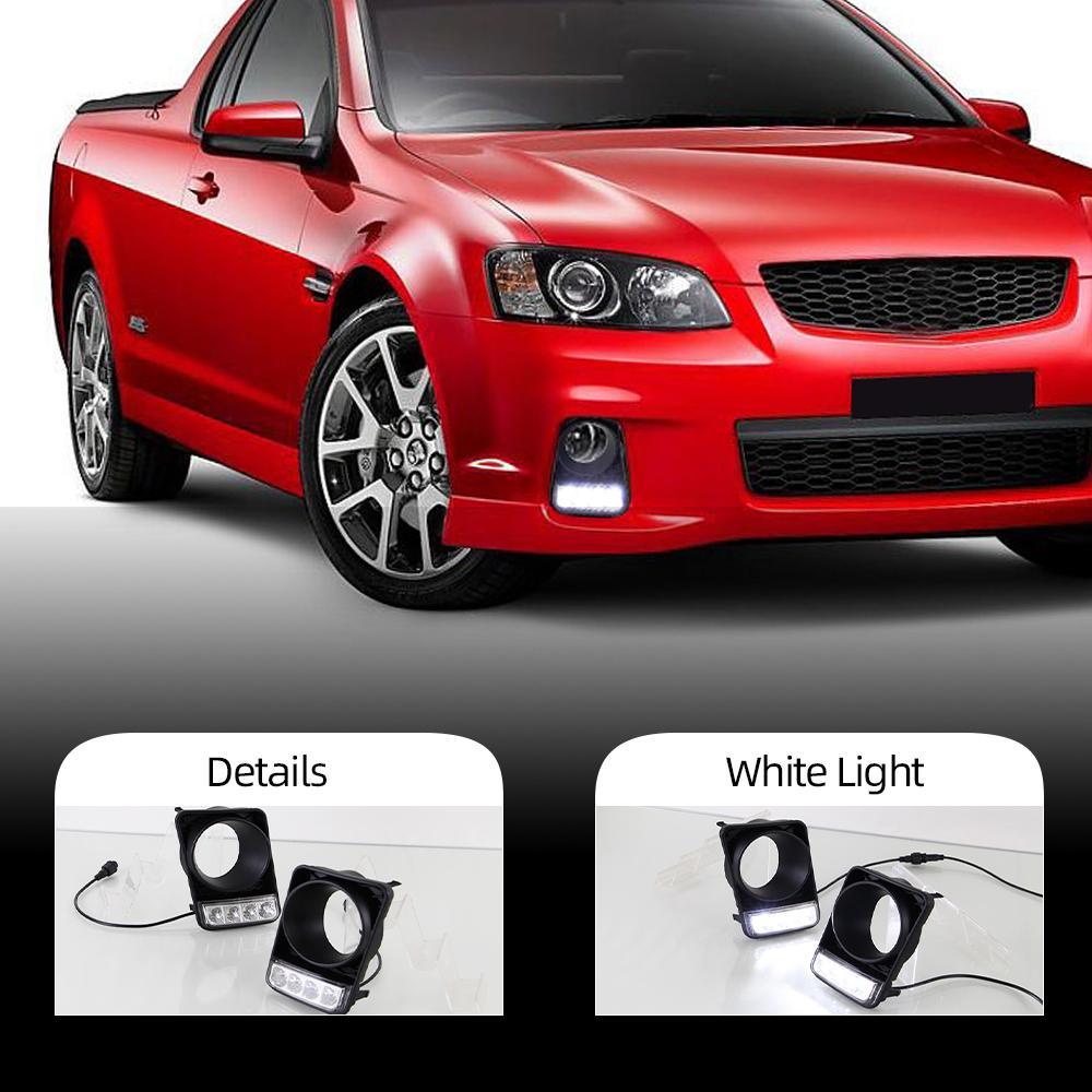 1 Набор для Holden Commodore VE Серия 1 SV6 SSV SS Дневной свет автомобиля стилизации LED DRL дневные ходовые огни стиль противотуманная фара