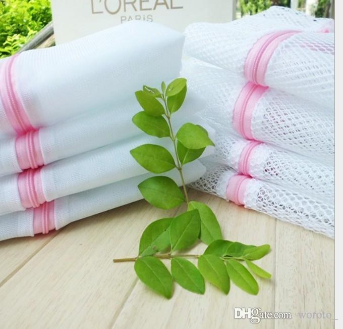 Bolsa de lavado Limpieza 30 x 40 cm lavadora lavadora ropa interior profesional lavado bolsa de lavandería enfermería sólida