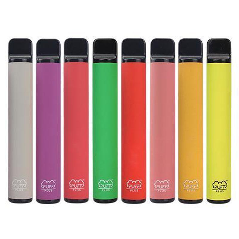 Puff Plus-Bar Einweg Vapes Geräte Pod Kit 800 Puff Bars 3,2 ml Kartuschen Vape leeren Pen Vape Wagen Verpackung E-Zigarette