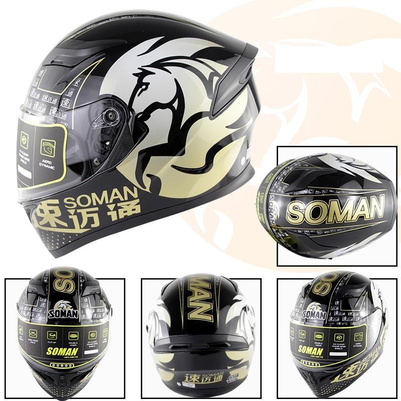 casques DOT Motocross / Accessoires moto de course Casques moto Casques hors route / cycliste casques plein visage vélo casques de sécurité b-3