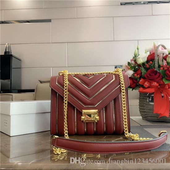 borsa a tracolla plaid designer luxurys catena di borsa tracolla Messenger bag ladies h