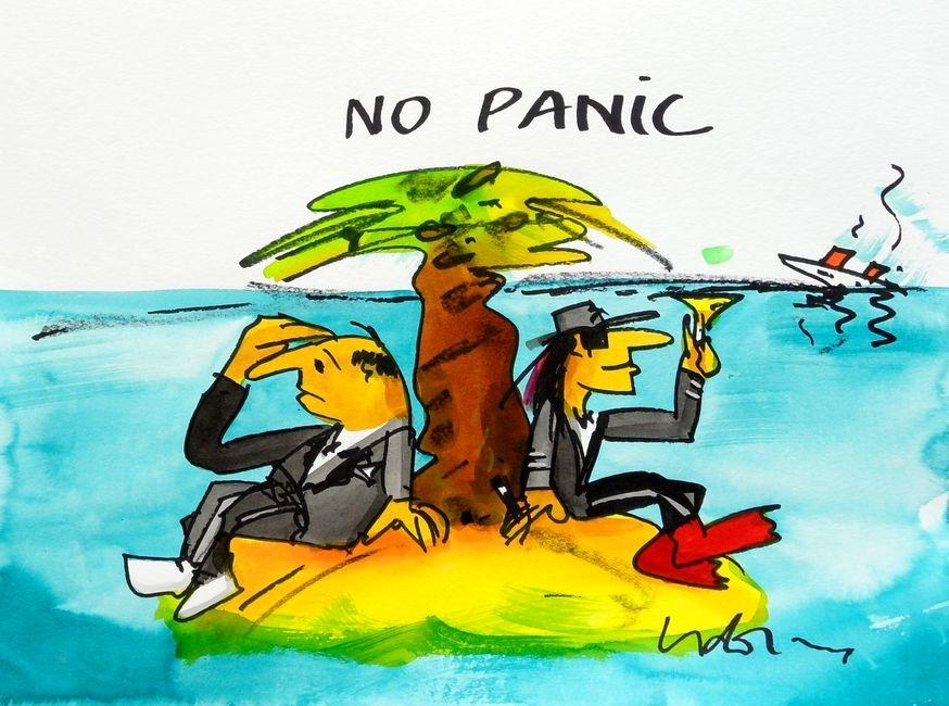 No panic Home Decor Handpainted &HD Print Oil Painting On Canvas Wall Art Canvas Pictures 200224