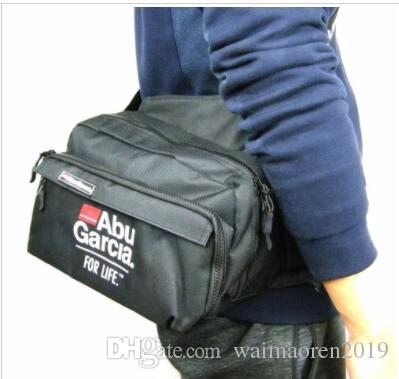 2018 ABU Waist bag Waist pack Lure Pocket Accessories Bags Backpack Fishing bag High-quality!