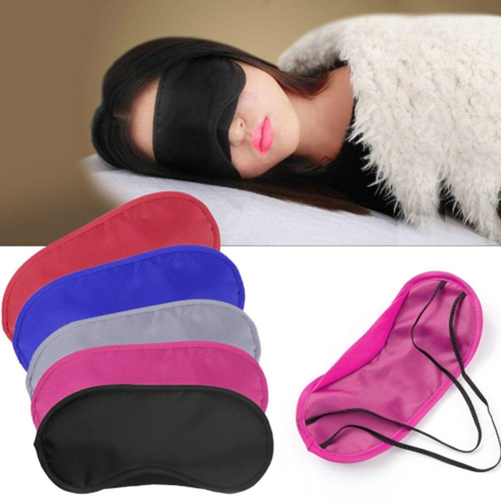 1PC Travel Sleep Rest Sleeping Aid Mask Eye Shade Cover Comfort Blindfold Shield