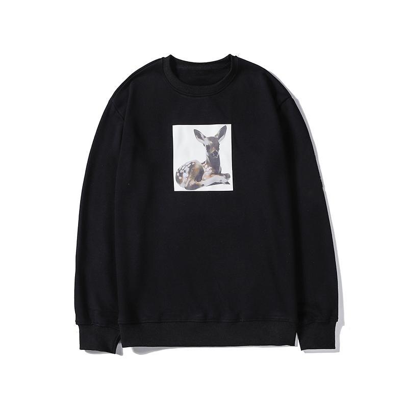 Marca Designer Mens Woemens Camisola Moda 3 Cor Pura com Animal Imprimir Tops de Manga Comprida Blusa Camisolas de Alta Qualidade LSY98277