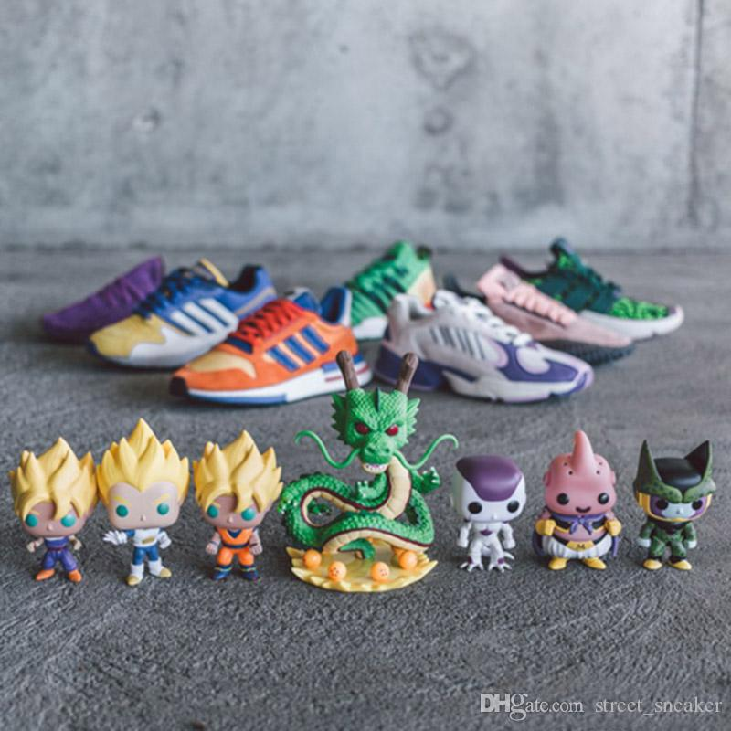 Fashion DRAGON BALL Z Run Shoe Goku FRIEZA EQT Shenron Prophere Cell Majin Buu Vegeta Son Gohan Designer Spots Shoes