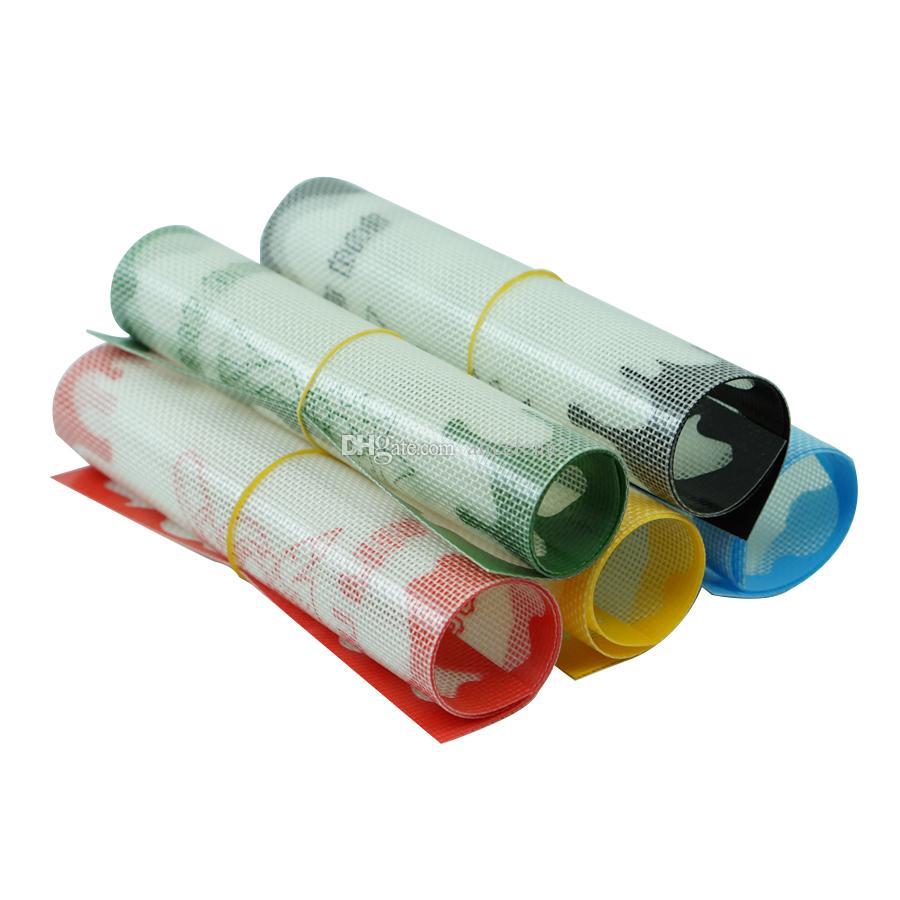 Aprovado pela FDA esteira laminada de cera bape silicone dab bho de silicone com pouco óleo de qualidade alimentar com silicone e construção de fibra de vidro