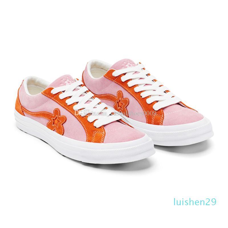 Tyler, The Creator x Una estrella buey Golf diseñador de moda zapatillas Le Fleur TTC zapatos casuales para zapatos de skate Deporte Hombres Mujeres AF15