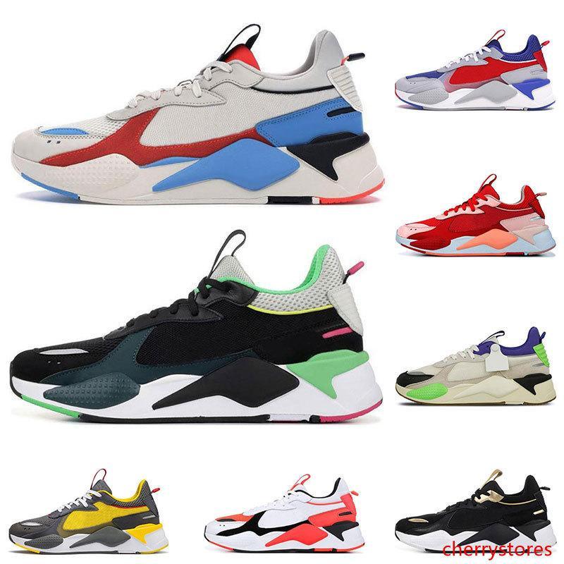 Hot RS-X Juguetes mujeres de los hombres zapatos casuales BRILLANTE PEACH Pistas Sankuanz lavanda para hombre tamaño 36-45 envío libre formadores deportes al aire libre las zapatillas de deporte