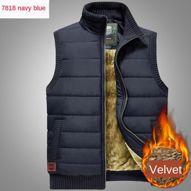 t8zG2 NIAN JEEP / JEEP pull en cachemire automne et l'hiver bouclier nouveau lâche velours taille 7818 casual hommes épaissie veste grande